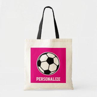Roze het bolsazak van de voetbalbal voor draagtas