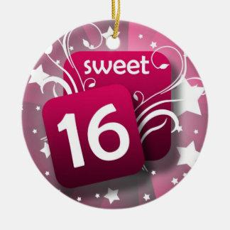 Roze het Gloeien Snoepje 16 van Wervelingen en van Rond Keramisch Ornament