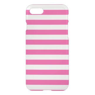Roze Horizontale Strepen iPhone 8/7 Hoesje