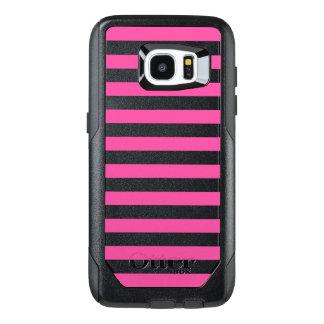 Roze Horizontale Strepen OtterBox Samsung Galaxy S7 Edge Hoesje