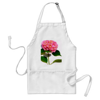 Roze Hydrangea hortensia Standaard Schort