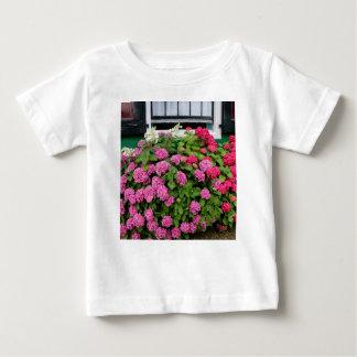 Roze hydrangea hortensia's, Holland Baby T Shirts