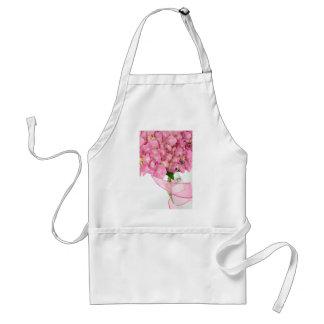 Roze Hydrangea hortensia's Standaard Schort