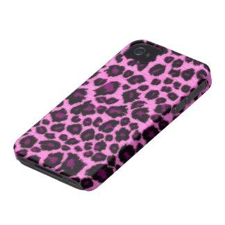Roze iPhone 4 van de Druk van de Luipaard Hoesje
