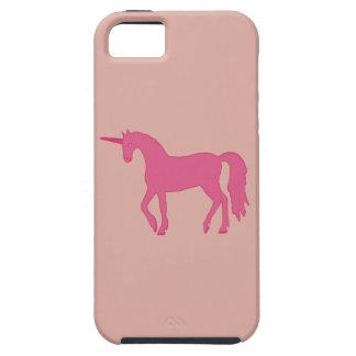 Roze iPhone 5 van de Eenhoorn Hoesje