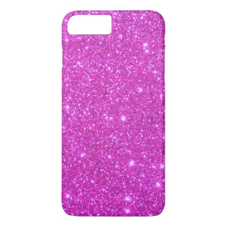 Roze iPhone 7 Hoesjes Sparkly Girly van Glittery