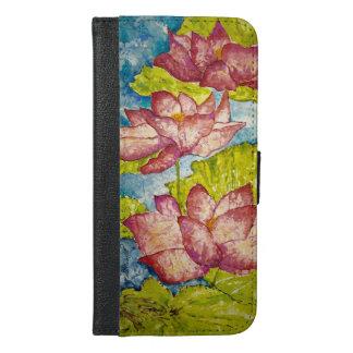 Roze iPhone van de Kunst van Lotus 6/6s plus het