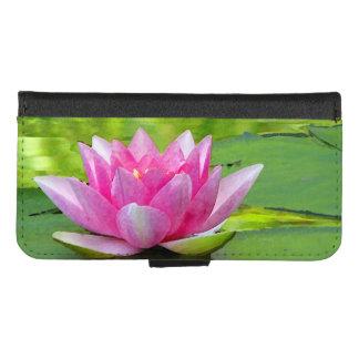Roze iPhone van de Waterlelie van Lotus 8/7 Hoesje
