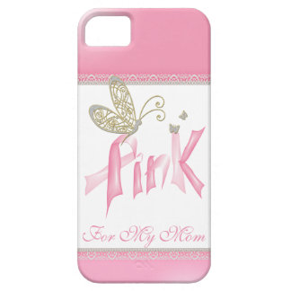 Roze iPhonehoesje van Kanker van de Borst van de Barely There iPhone 5 Hoesje
