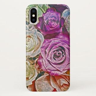 Roze is toenam iPhone x hoesje