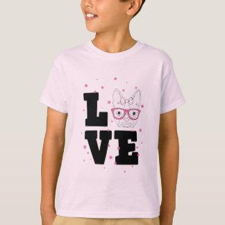 Roze Kalverliefde T Shirt