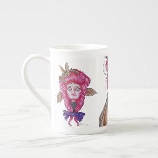 Roze Knuppel Dame Mug Theekop