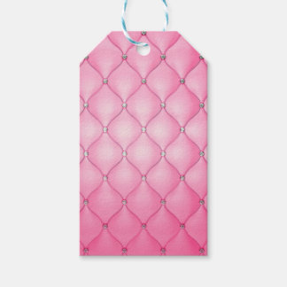 Roze Kussen Cadeaulabel