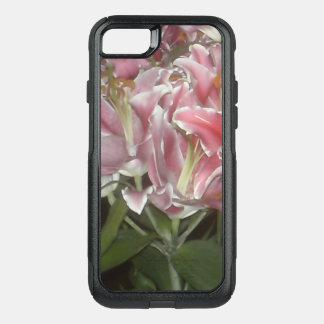 Roze Lelies OtterBox Commuter iPhone 7 Hoesje