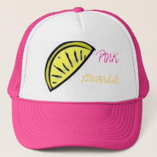 Roze Limonade Trucker Pet