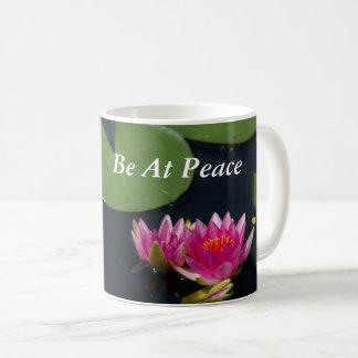 Roze Lotus Waterlilies Koffiemok
