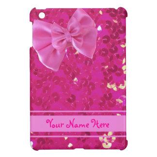 roze lovertjes ipad minihoesje iPad mini case