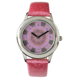 Roze Macht Horloge