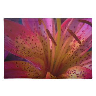 Roze Mooie Lelie - knoei Placemat