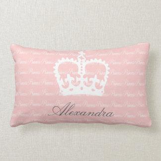 Roze-n-witte Prinses Lumbar Kussen