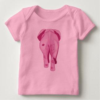 Roze Olifant SWAK Baby T-shirt