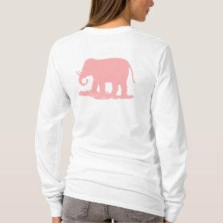 Roze Olifant T Shirt
