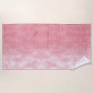 Roze Opalen Hemel en Wolken Strandlaken
