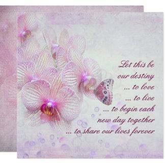 Roze Orchideeën en de Uitnodiging van het Huwelijk
