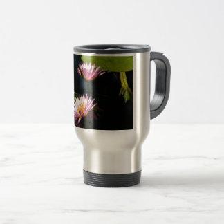 Roze Paars Lotus Waterlilies Reisbeker