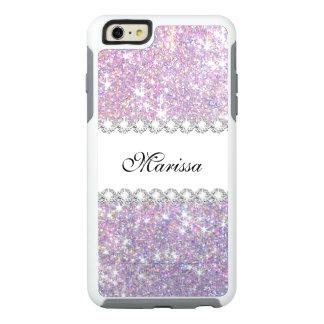 Roze Paars schittert Otterbox iPhone 6/6s plus