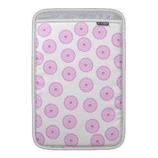 Roze Patroon Cupcake MacBook Air Beschermhoes