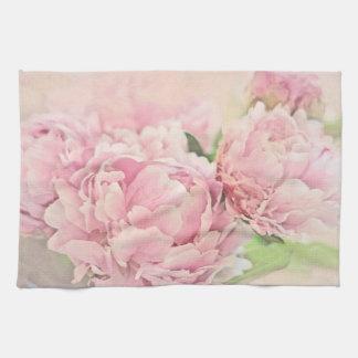 Roze Pioenen Theedoek