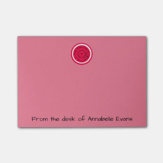 Roze Pitchpipe Post-it® Notes