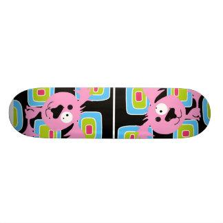 Roze Retro Hond Bubblegum 18,1 Cm Old School Skateboard Deck