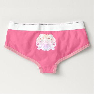 roze retro ondergoed