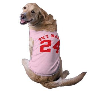 Roze & Rode Huisdieren | Ontwerp van Jersey van Shirt