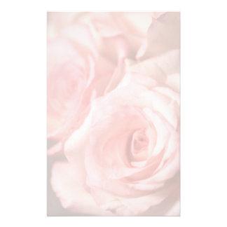 Roze Rozen Briefpapier Papier