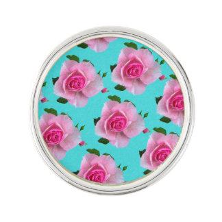 roze rozen op wintertaling reverspeld