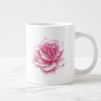 roze rozenmok grote koffiekop