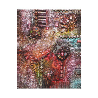 Roze Schoonheid Canvas Afdruk