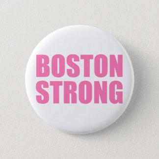 Roze Sterk van Boston Ronde Button 5,7 Cm