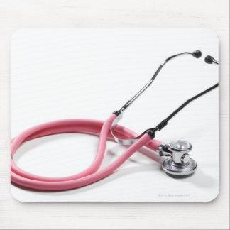 Roze Stethoscoop Muismatten