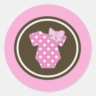 Roze Stickers - Perfect voor geslacht openbaart