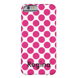 Roze Stip Barely There iPhone 6 Hoesje