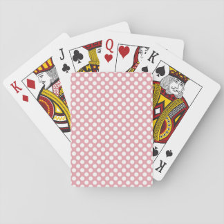 Roze Stippen Speelkaarten