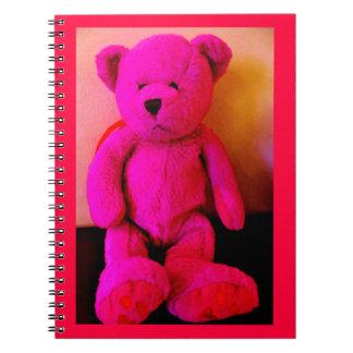 Roze Teddybeer Notitieboek