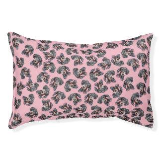 Roze Tekkel behandeld ontwerp Hondenbedden