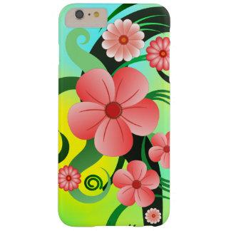 Roze Tropische Hibiscus Bloemen Slanke iPhone6 6S Barely There iPhone 6 Plus Hoesje