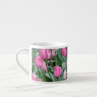 Roze Tulpen Espresso Kop