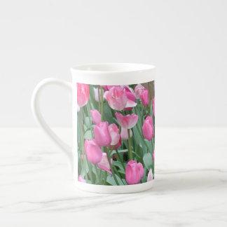 Roze Tulpen Theekop